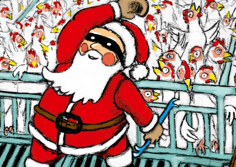Free Merry Christmas Illustration Atelier Franzka